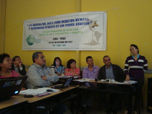 SINTRACUAVALLE PARTICIPA EN EL CONGRESO DE LA FENTAP 2013